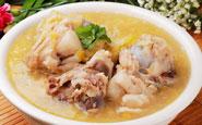 孕期补叶酸食谱:菠菜鸡煲
